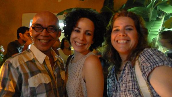 Fábio Caio, Juliana e amiga
