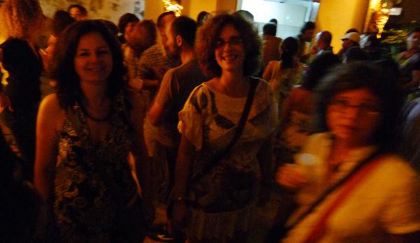 Paula de Renor e Carla Valença