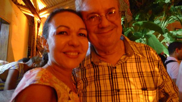 Magdale Alves e Fernando Limoeiro