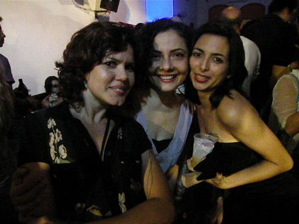 Helijane Rocha, Ceronha Pontes e Talita Gadêlha