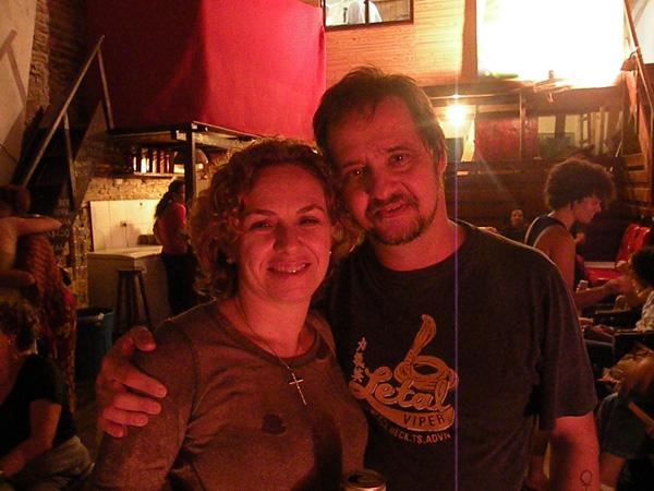 Mônica e Beto Trindade