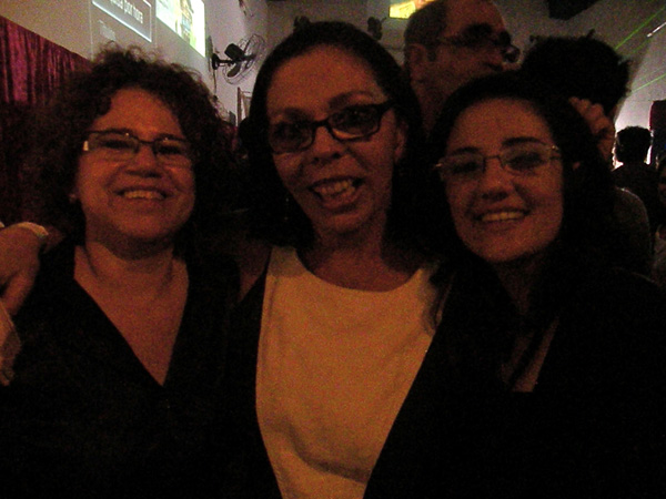 Com Suzana Costa