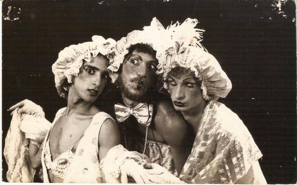 Henrique Celibi, Fábio Costa e Guilherme Coelho. Foto: Henrique Celibi/acervo pessoal