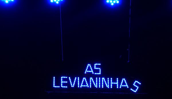 As Levianinhas em pocket show para crianças. Foto: Pollyanna Diniz