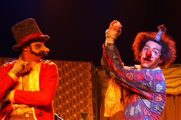 Palhaçadas - Histórias de um circo sem lona. Foto: Pollyanna Diniz