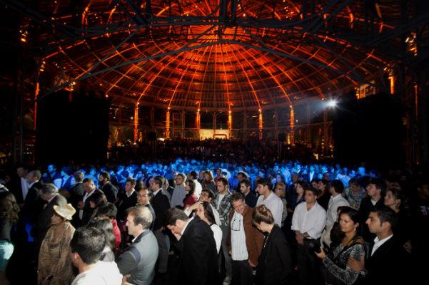 Público na Ópera de Arame, na abertura do FTC