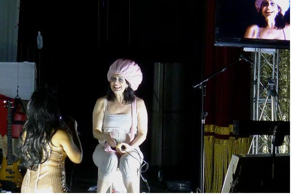 Virgínia Iglesias, atriz e produtora da Cia Mungunzá de Teatro