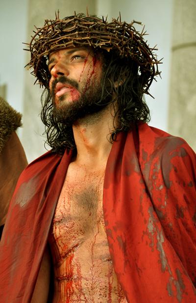 José Barbosa interpreta Jesus Cristo há dois anos na Paixão de Nova Jerusalém. Foto: Fábio Jordão/divulgação