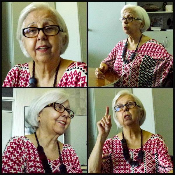 Leda Alves, 82 anos, secretária de Cultura do Recife. Foto: Ivana Moura