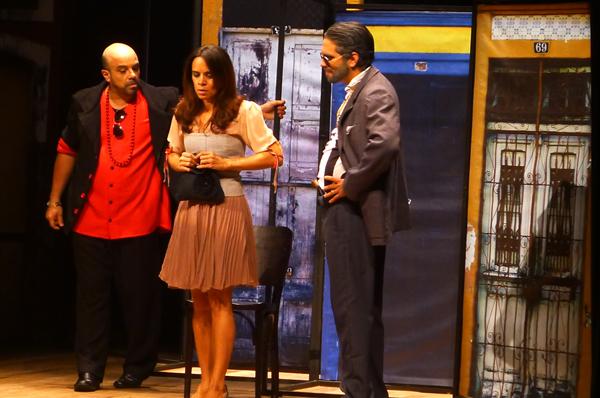 Ivo Barreto, Andrêzza Alves e Pascoal Filizola. Foto: Pollyanna Diniz
