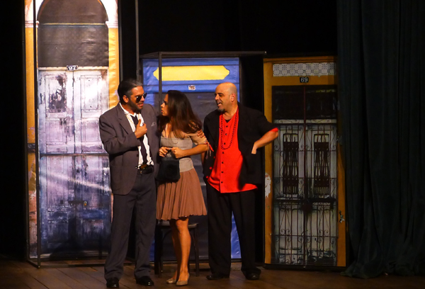 Pascoal Filizola, Andrêzza Alves e Ivo Barreto