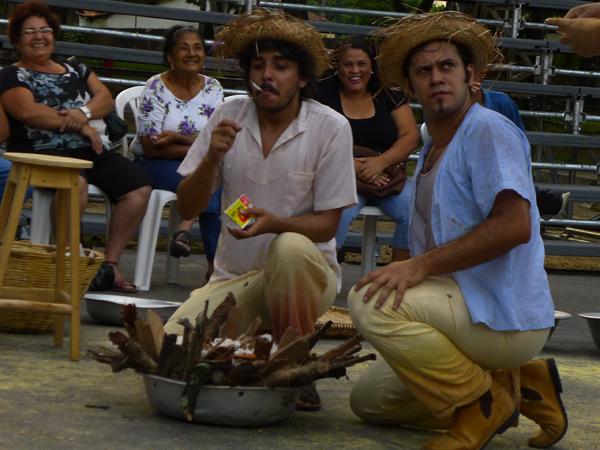 Peça Luiz Lua Gonzaga foi apresentada no Sítio da Trindade. Foto: Pollyanna Diniz