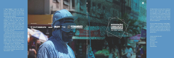 Capa do livro Intervenções Urbanas com mídias locativas