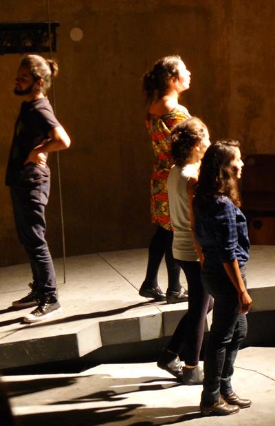 Apresentações foram no Teatro Paiol