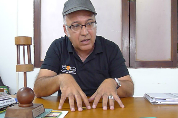 Carlos Carvalho diz que assina embaixo a não realização do FRTN, porque não havia recursos suficientes para fazer um bom festival. Foto: Pollyanna Diniz