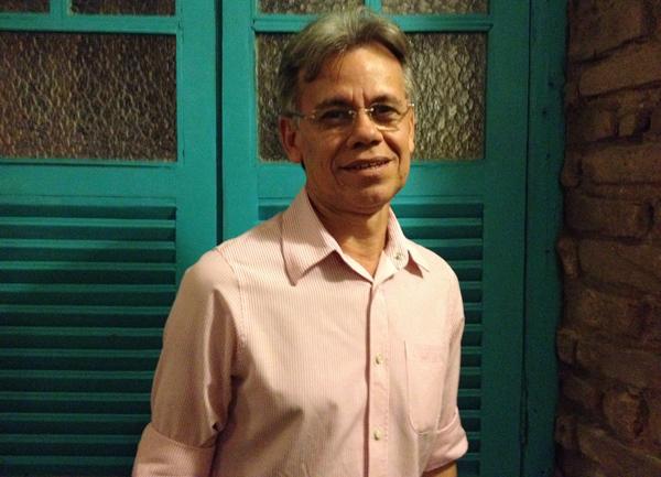 Romildo Moreira, chefe da Divisão de Artes Cênicas da Fundação de Cultura Cidade do Recife