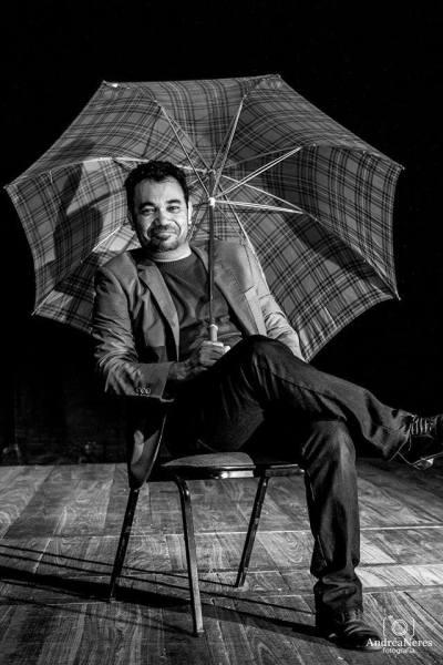 Quiercles Santana, diretor do espetáculo. Foto: Andréa Neres