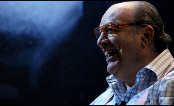 Antonio Abujamra morreu aos 82 anos. Foto: Bertolucci/ Tv Cultura