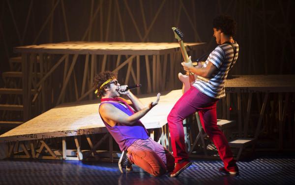 Musical desfila sucessos de Cazuza. Foto: Leo Aversa