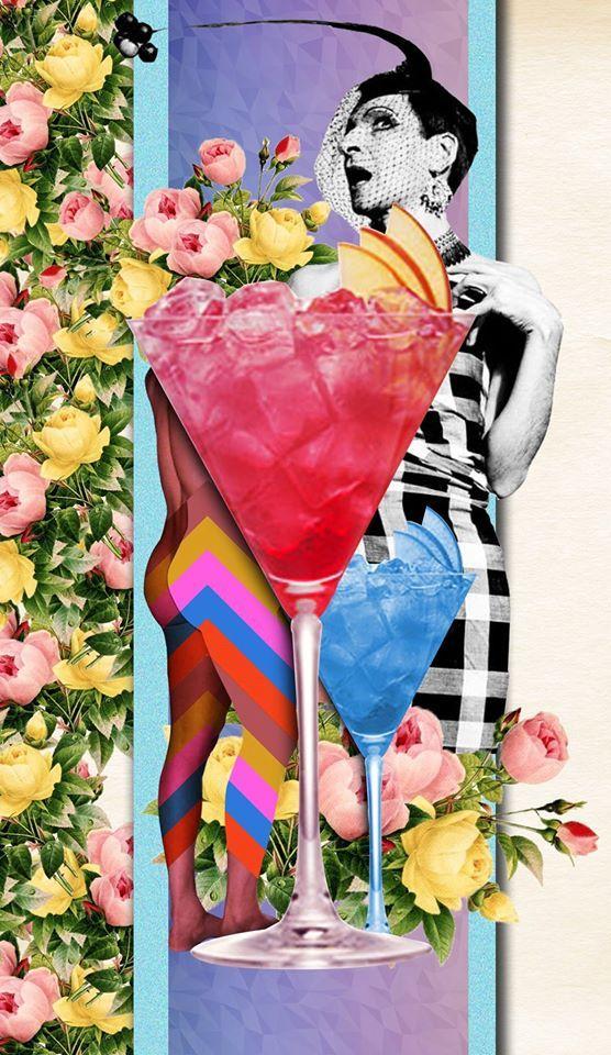 Coletivo Angu de Teatro promove o Bazar Copi Pop da Madame Garbo. Arte de Bruno Parmer