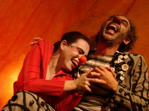 Gilberto Brito interpreta o Palhaço Jurema