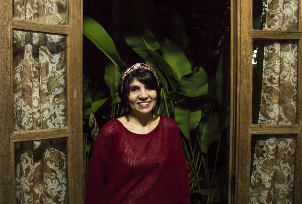 Cira Ramos, diretora do espetáculo Em nome do pai