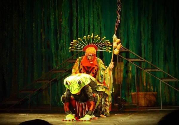 Peça é baseada em lendas originais do alto Amazonas, com direção de José Francisco filho
