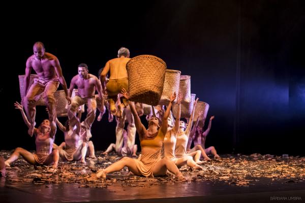 Ritual da Sagração da Primavera do Amazona se passa numa aldeia indígena. Foto: Divulgação
