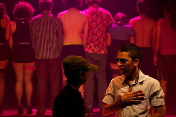 The Celio Cruz show tem texto de Newton Moreno. Foto: Luciana Lemos
