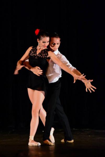 Último tango, com o aria social. Foto: Fernando Azevedo