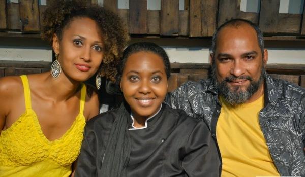 Agri Melo, Naná Sodré e Samuel Santos celebram um ano do Espaço