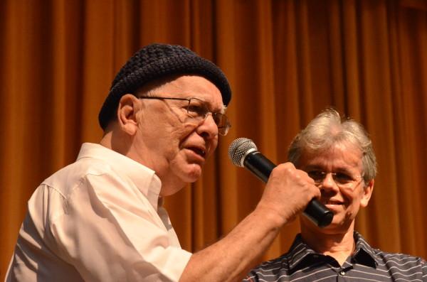 Jornalista e crítico teatral Valdi Coutinho, homenageado do Festival Recife do Teatro Nacional deste ano. Foto: Inaldo Lins