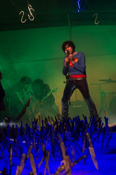 Banda de rock participa do espetáculo