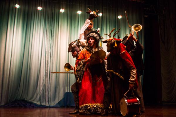 La Expulsión de Los Jesuitas, do grupo chileno Tryo Teatro Banda. Foto: Jennifer Glass