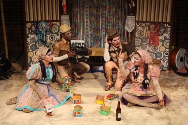 Sebastiana e Severina foi a grande vencedora em teatro para a infância. Foto: Divulgação