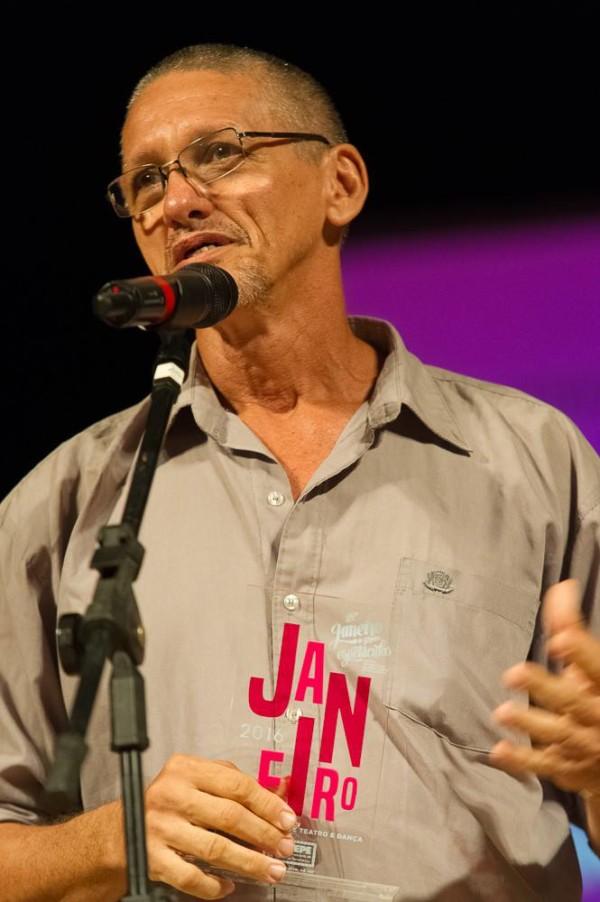 Coreógrafo da Compassos Cia de Dança, Raimundo Branco