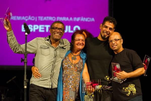 Demétrio, , Monoel e ClaudioLira