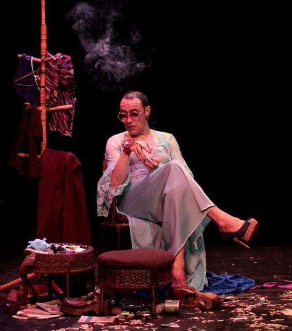 Peça é inspirada nas figuras femininas de Caio Fernando Abreu. Foto: Davi Lima