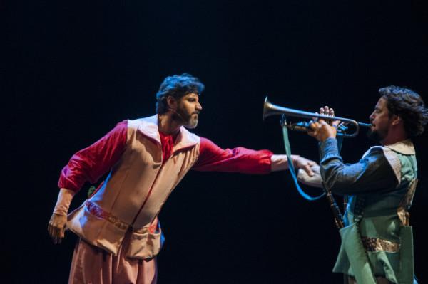 Luciano Pontes e Gustavo Villar. Foto: Sheila Oliveira