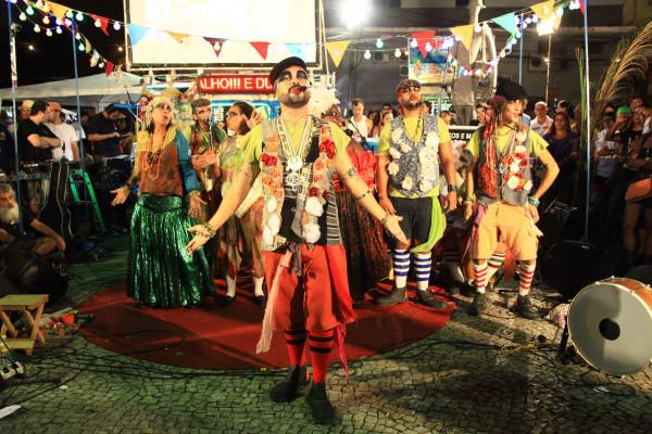 Espetáculo Pólo Marginal - Opereta de rua. Foto: Miguel Igreja