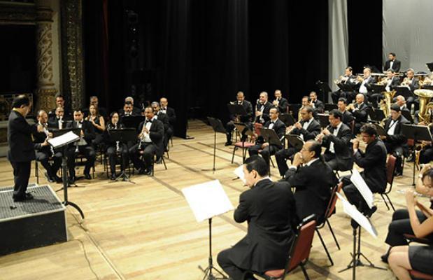 Banda Sinfônica. Foto: Andrea Rego Barros