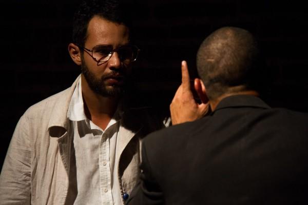 Daniel Barros e Júnior Aguiar em pa(IDEIA) - Pedagogia Da Libertação. Foto: Trema! Festival