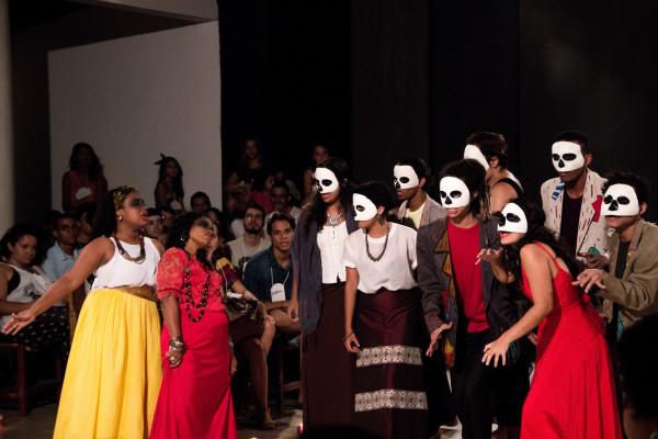 Viva La Vida, da Escola de Arte Joao Pernambuco, encerra a mostra. Foto: Fernando Figueiroa /Divulgação