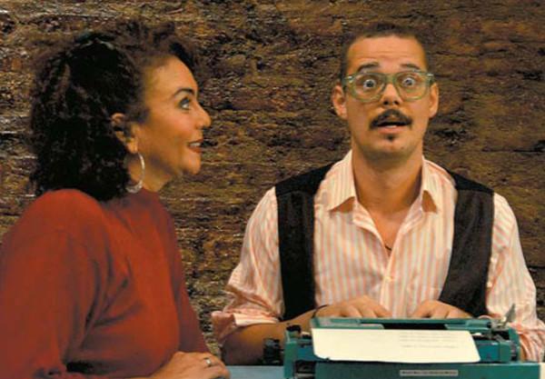 atores Rose Quirino e Leonardo Bouças. Foto: Divulgação