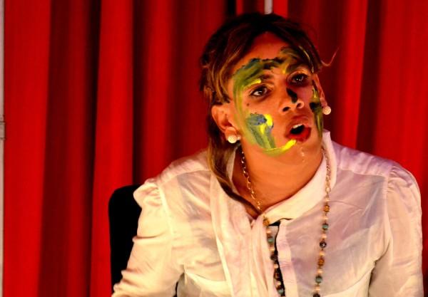 Espetáculo com Neto. Foto: Jorge Almeida