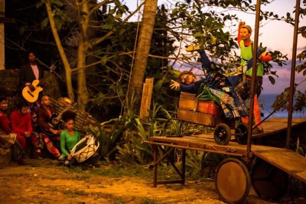 Peça é inspirada na oralidade nordestina. Foto: João Meirelles/ Divulgação