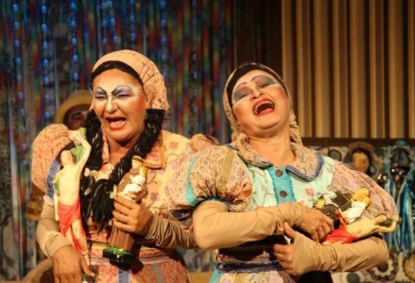 A peça Sebastiana e Severina participa do festival de Valongo, em Portugal. foto: Divulgação