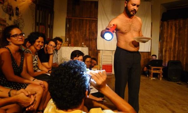 Paricicipação da plateia. foto Ivana Moura
