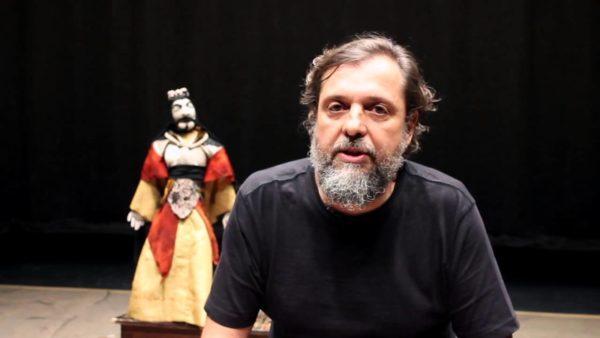 MMárcio Marciano é diretor do Coletivo Alfenim. Foto: Primeiro Sinal / Reprodução do Youtube