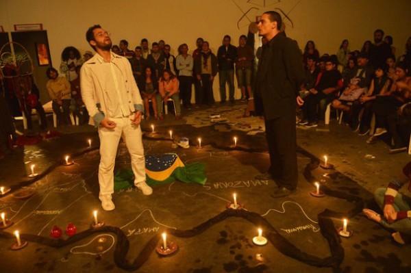 Daniel Barros e Júnior Aguiar. Foto: Léo Caldas/ Divulgação